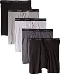 Hanes Men's 5-Pack Ultimate Boxer Bri…