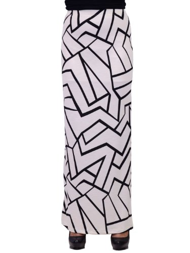 Fitted Maxi Skirt front-1050989