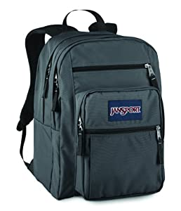 JanSport Big Student School Backpack (Forge Grey)