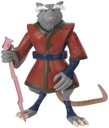 Buy Low Price Playmates Teenage Mutant Ninja Turtles: Fast Forward 5″ Splinter Action Figure (B000HDQCG6)