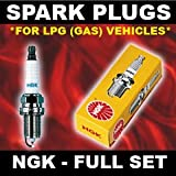 LPG Spark Plugs NGK LPG1 x4 - ALFA ROMEO 156 2.0 01>on