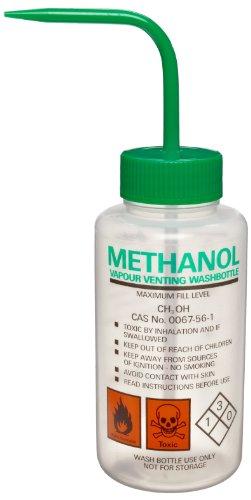 Azlon 506465-0005 500Ml Driplok Safety Vented Methanol Wash Bottle (Case Of 5) front-930976