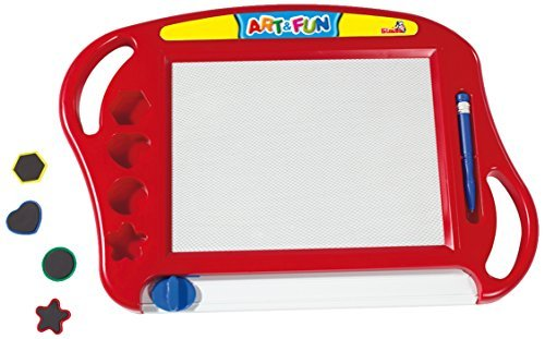 Simba 106332217 - Art and Fun Magic Drawing Board - Red by Simba (Simba Drawing compare prices)