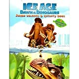 ICE AGE DAWN OF THE DINOSAURS JUMBO COLORING & ACTIVITY BOOK WITH DOOR HANGER ON BACK!