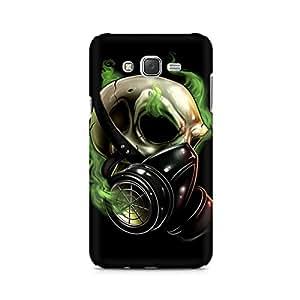 Mobicture Skull Music Premium Printed Case For Samsung J3