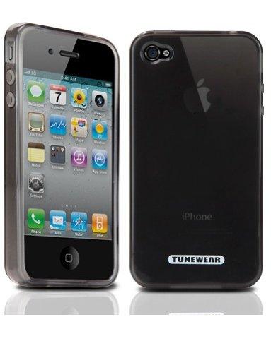 TUNEWEAR iPhone4用ソフトケース SOFTSHELL for iPhone 4 スモーク TUN-PH-000049