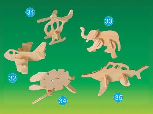 Picture of Puzzled Turtle- Mini 3D Puzzle (B002X33E0K) (3D Puzzles)