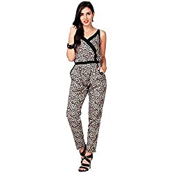 Eavan Women's Casual Wear Attractive Polyester Jumpsuit