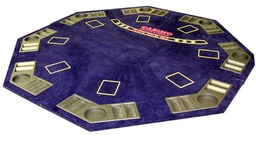 8 Player Blackjack Folding Table Top with Bag