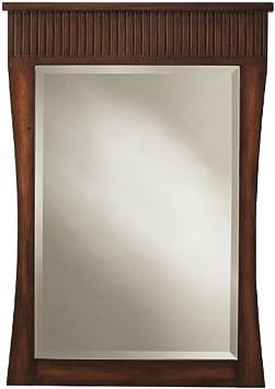 Fuji Mirror, 34Hx24Wx1.3D, OLD WALNUT