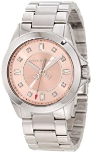 Juicy Couture 1901034 - Reloj de pulsera mujer, acero inoxidable, color plateado