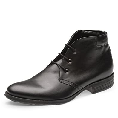 Evita Shoes Herren Stiefelette, schwarz (46)
