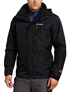 Columbia Men's Lhotse Mountain II Interchange Tall Jacket, Black, 2X Tall
