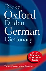 pocket oxford duden german dictionary 9780198614357 michael clark olaf thyen books. Black Bedroom Furniture Sets. Home Design Ideas