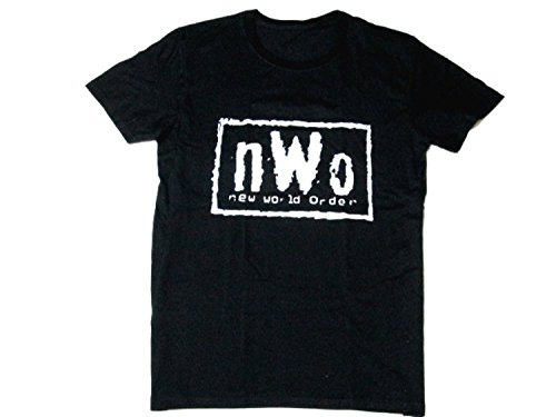 nWo (n/w/o) professional wrestling organizations short sleeve T shirt new Japan Pro Wrestling and American wrestling (M)
