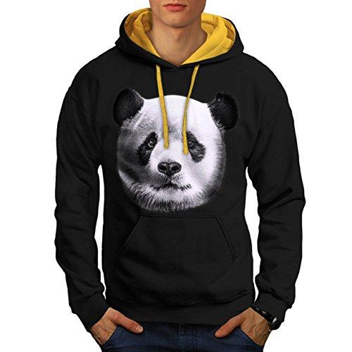 fissure-bois-panda-bois-style-homme-nouveau-noir-avec-capuche-dore-xl-capuchon-contraste-wellcoda