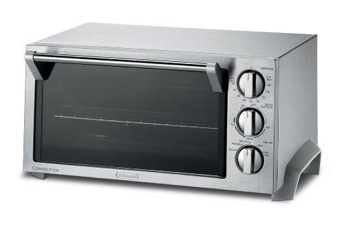 DeLonghi EO1270 6-Slice Convection Toaster Oven, Stainless Steel by DeLonghi (Convection Toaster Oven Delonghi compare prices)