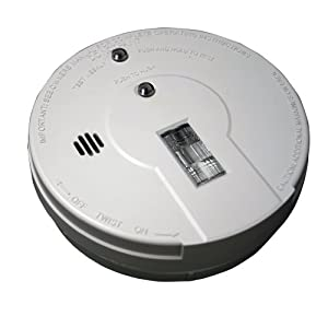 kidde i9080 battery operated smoke alarm with safety light home. Black Bedroom Furniture Sets. Home Design Ideas