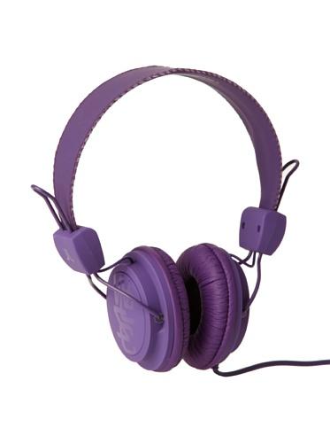 Wesc Unisex Matte Conga Premium Headphones, Purple Passion