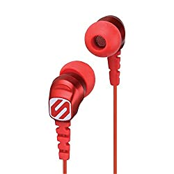Scosche Thudbuds Noise Isolation Headphone (Red)