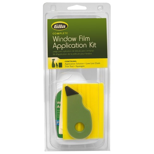 Gila RTK500 Window Film Application Tool Kit, Complete (Window Tint For House compare prices)