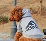 Freefisher Hundemantel Adidog Style (Schwarz, L) - 6