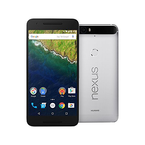 Click to buy HUAWEI Nexus 6P 64GB Unlocked GSM 4G LTE Octa-Core Android (Marshmallow) Smartphone w/ 12.3MP Camera - Aluminum Silver no warranty - From only $849.11