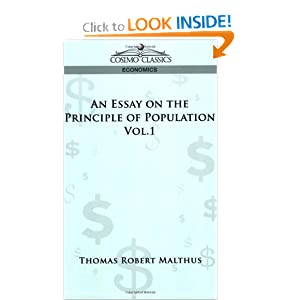 An Essay on the Principle of Population - Vol. 1 Thomas Robert Malthus