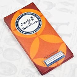 Orange & Geranium Organic Dark Chocolate Artisan Bar