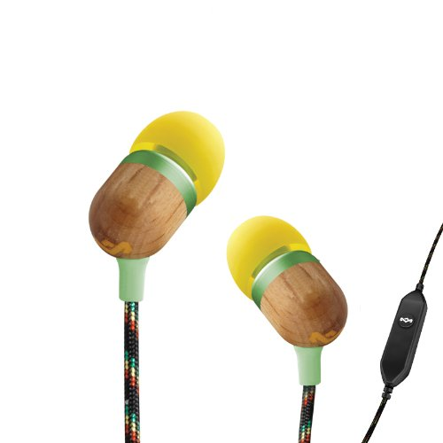 House Of Marley Em-Je001-Cu Smile Jamaica Jammin' In-Ear Headphone With 1-Button Mic - Curry