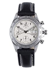 Fortis Men's 630.10.12 L01 Official Cosmonauts Automatic Chronograph Leather Date Watch