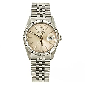Rolex Date automatic-self-wind silver mens Watch 15210SS (Certified Pre-owned)