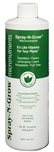 Spray-N-Grow Csng16 Micronutrients Complex, 16-Ounce
