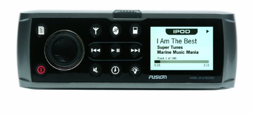 Fusion MS-AV600G CD/DVD/AM/FM,  iPod Ready Marine Stereo