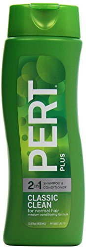 Pert Plus 2 In 1 Shampoo & Conditioner Happy Medium (For Normal Hair), 13.5 Oz front-585848