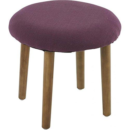 pouf-scandinave-cintra-tissu-violet-purple-d34xh32cm-lot-de-2