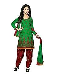 AASRI Women Cotton Unstitched Salwar Suit - B013M0W2UU