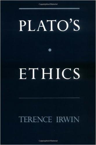 Plato's Ethics