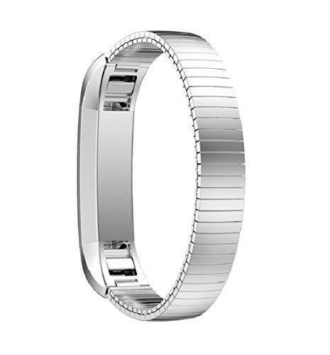 yistu-fitbit-alta-armband-edelstahl-silber