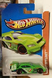 Hot Wheels 2013 HW Stunt 95/250 Time Tracker Green
