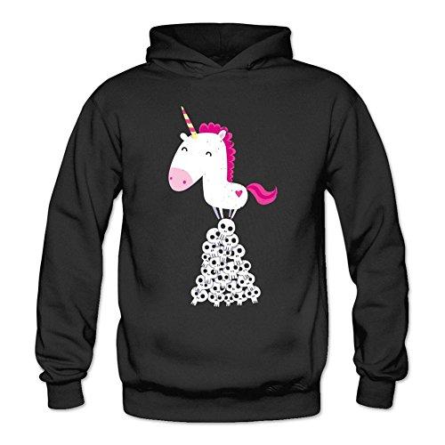 LOVELIN-Womens-Killer-Unicorn-DIY-Long-Sweatshirts-Hoodie