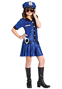 Police Girl Child (size 6-8)