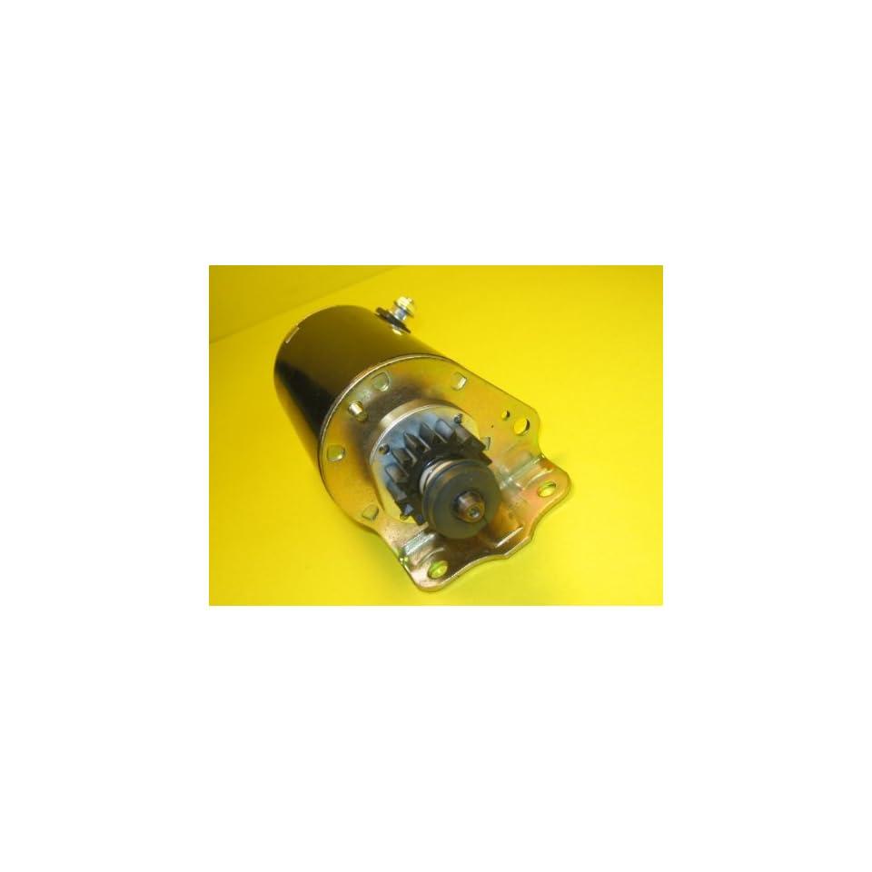 Starter Briggs & Stratton 14HP 16HP 18HP Twin Cylinder Engine Longer Case 495100 498148 5744