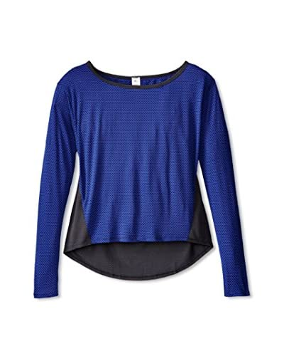 15Love Women's Cut Out Mesh Top