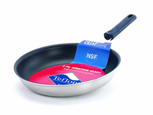 Crestware 12-Inch Coated Induction Efficient Fry Pan