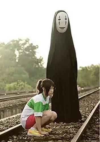 カオナシ コスプレ 衣装 コスチューム ハロウィーン ハロウィン 変装 全セット cosplay かおなし 顔なし 千と千尋の神隠し OFHBA1-14006 (M(160cm-165cm))