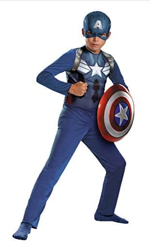 Captain America Movie 2 Basic Costume