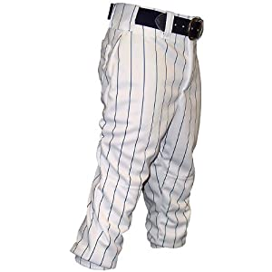 Buy (Price EA)Don Alleson Pinstripe Baseball Pant - Adult XXL - White Teal
