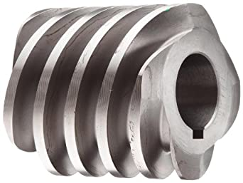 "Boston Gear D1638KLH Worm Gear, 14.5 Degree Pressure Angle, 1.000"" Bore, 6 Pitch, 2. PD, LH"