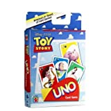 41ZdE86o18L. SL160  Disney / Pixar Toy Story UNO Card Game